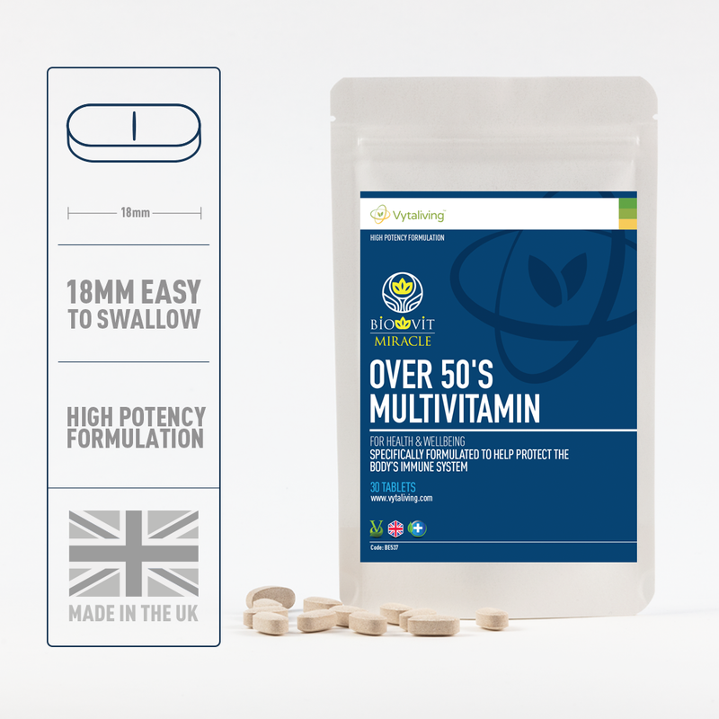 Biovit Over 50s Multivitamin Tablets