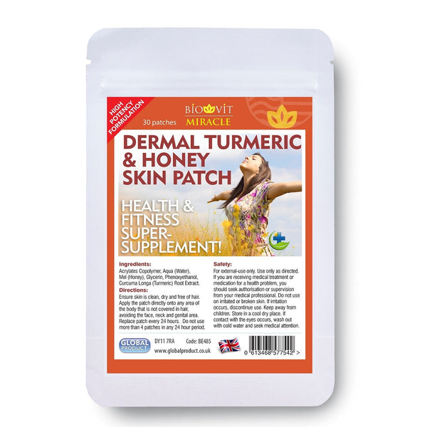 Turmeric & Honey Dermal Patch by vytaliving
