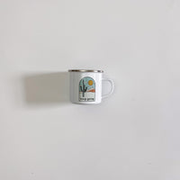 Keep Going Enamel Campfire Mug