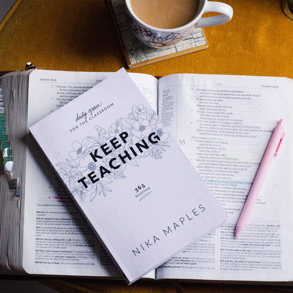 Keep Teaching Devotional Book