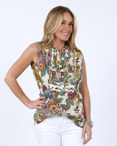 Floral Tunic Tank | S-XL