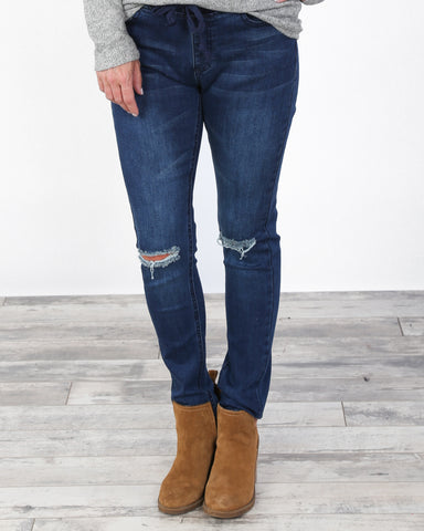 Denim Skinny Jogger
