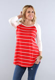 Striped Raglan Tunic