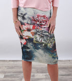 Print Pencil Skirts | More colors