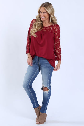 Brooklyn Lace Top | S-XL