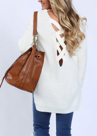 Candace Criss-Cross Sweater