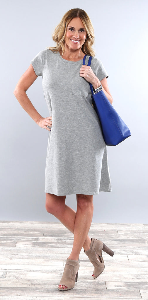 Favorite Pocket Tee Dress
