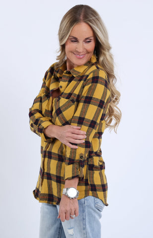 Johnny Plaid Flannel Button Up | S-3X
