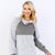 Heather Quilted Pullover
