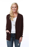Favorite Long Pocket Cardigan