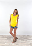 High Quality V-Neck Tank | S-3X