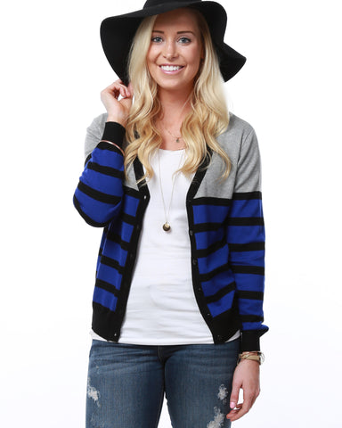 Two Toned Cardigan