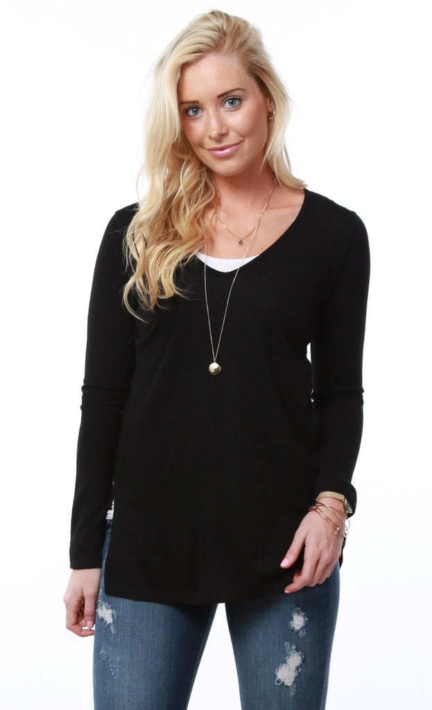 V-Neck Light Sweater | S-3X