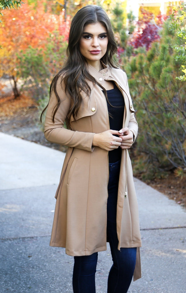 Upper East Side Trench Coat