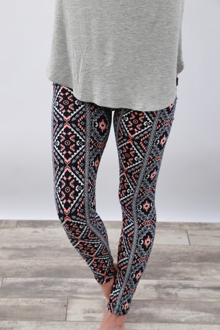 Multi Print Leggings