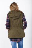 Safari Hooded Utility Vest | S-XL