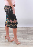 Spring Print Pencil Skirts | More colors