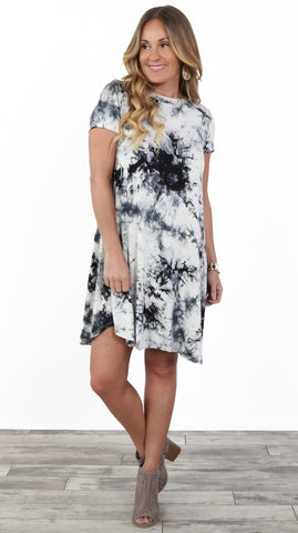 Luxe Tye Dye Dress
