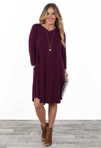 Cassidy Luxe V-Neck Dress | S-XL