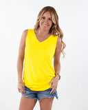 High Quality V Neck Tank|S-XL