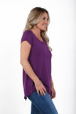 Fall Short Sleeve Tunic | S-XL