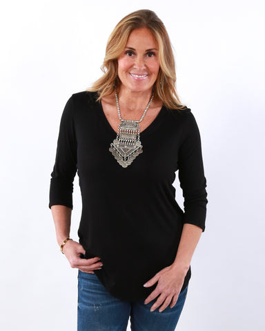Coco High Quality V Neck Tunic| S-XL