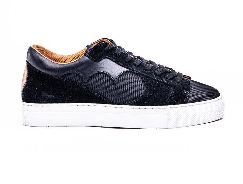 Ndozi LOW CUT SNEAKER - BLACK - magents