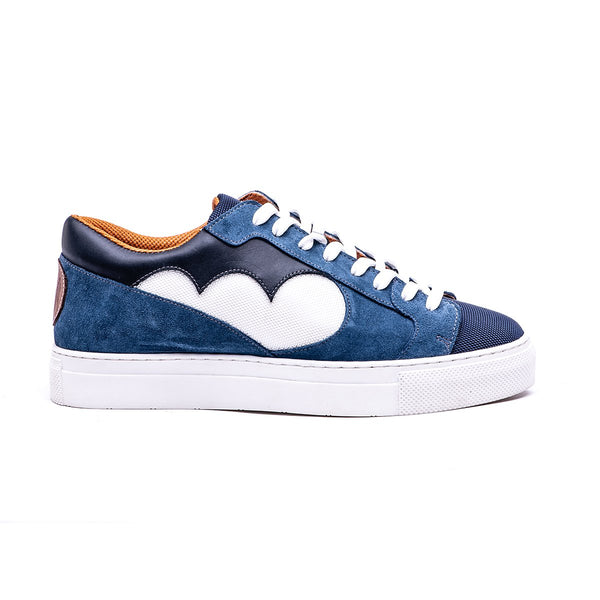 NDOZI LOW CUT SNEAKER - BLUE - magents