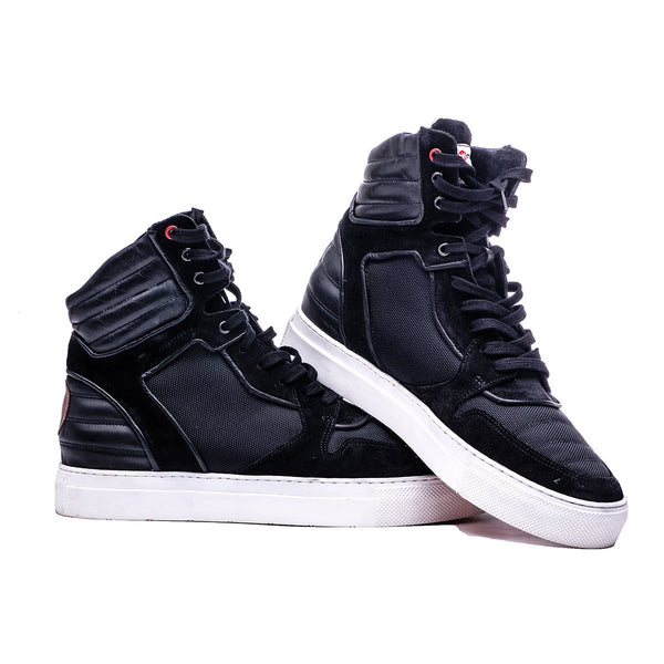 MOJA HIGH TOP BOOT - BLACK - magents