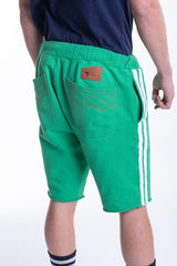 SWEAT SHORTS IN GREEN