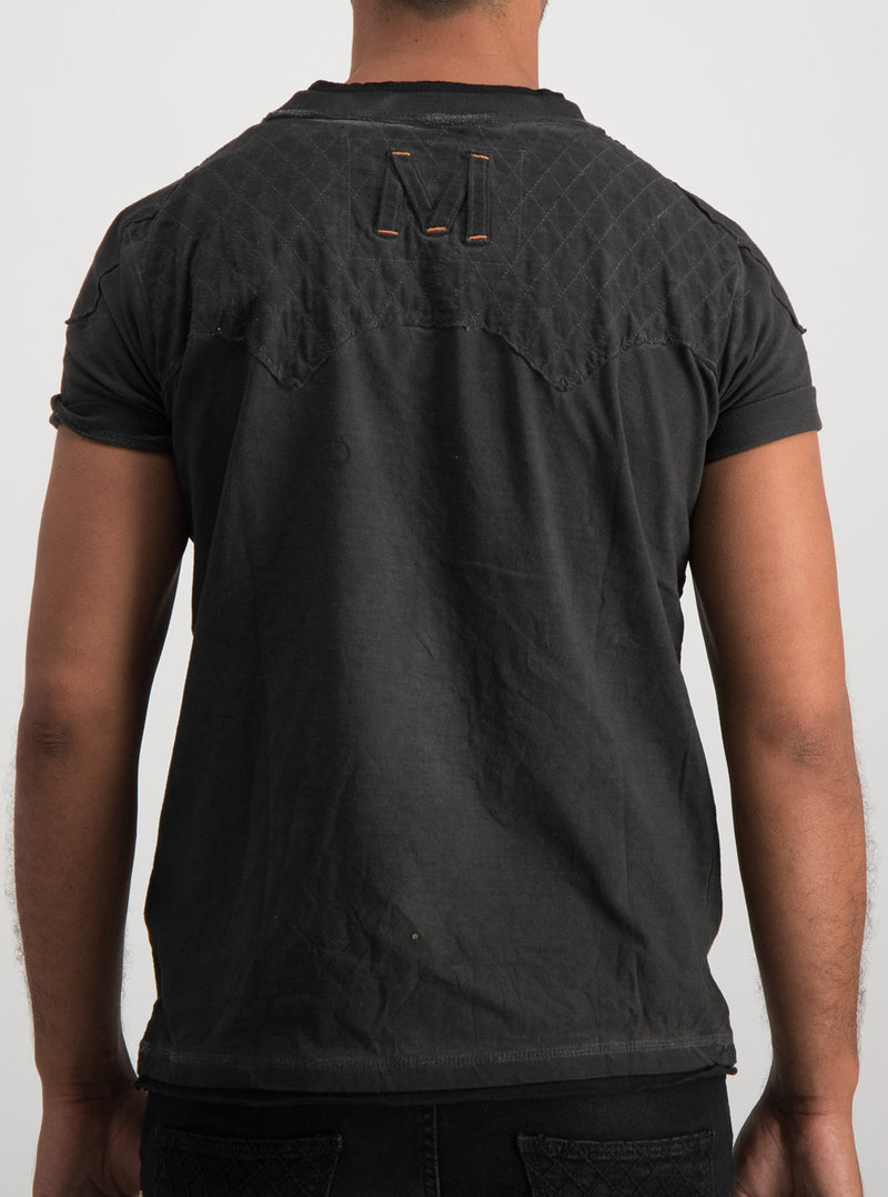 Magents 92 Tshirt in Charcoal
