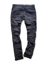 SNAP SPANK Denim Black Skinny Uberstretch - magents