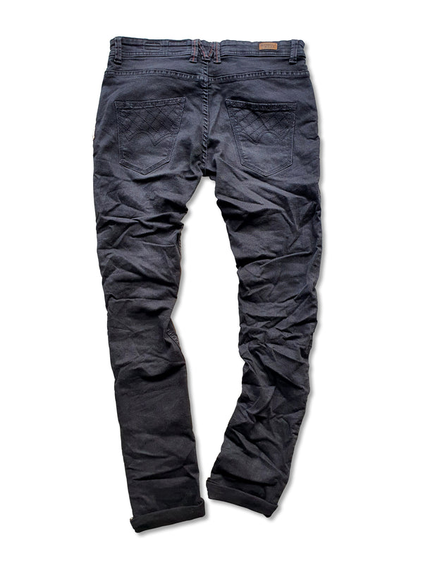 SNAP SPANK Denim Black Skinny Uberstretch