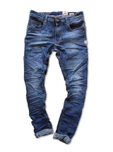 SNAP SPANK Denim Medium wash Skinny Uberstretch - magents