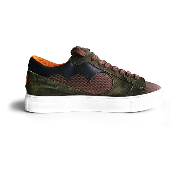NDOZI LOW CUT SNEAKER - OLIVE - magents