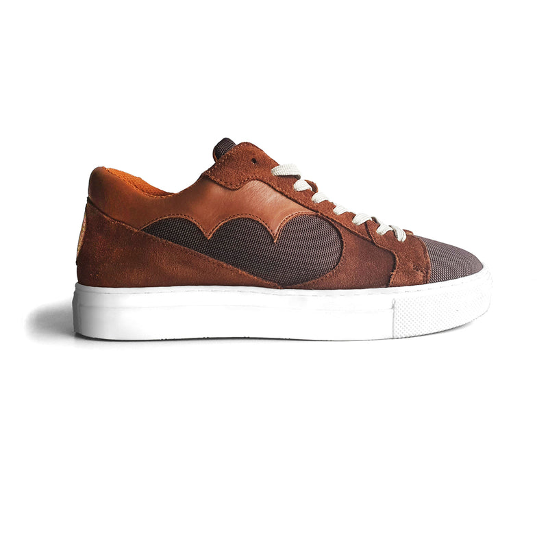 NDOZI LOW CUT SNEAKER - TAN - magents
