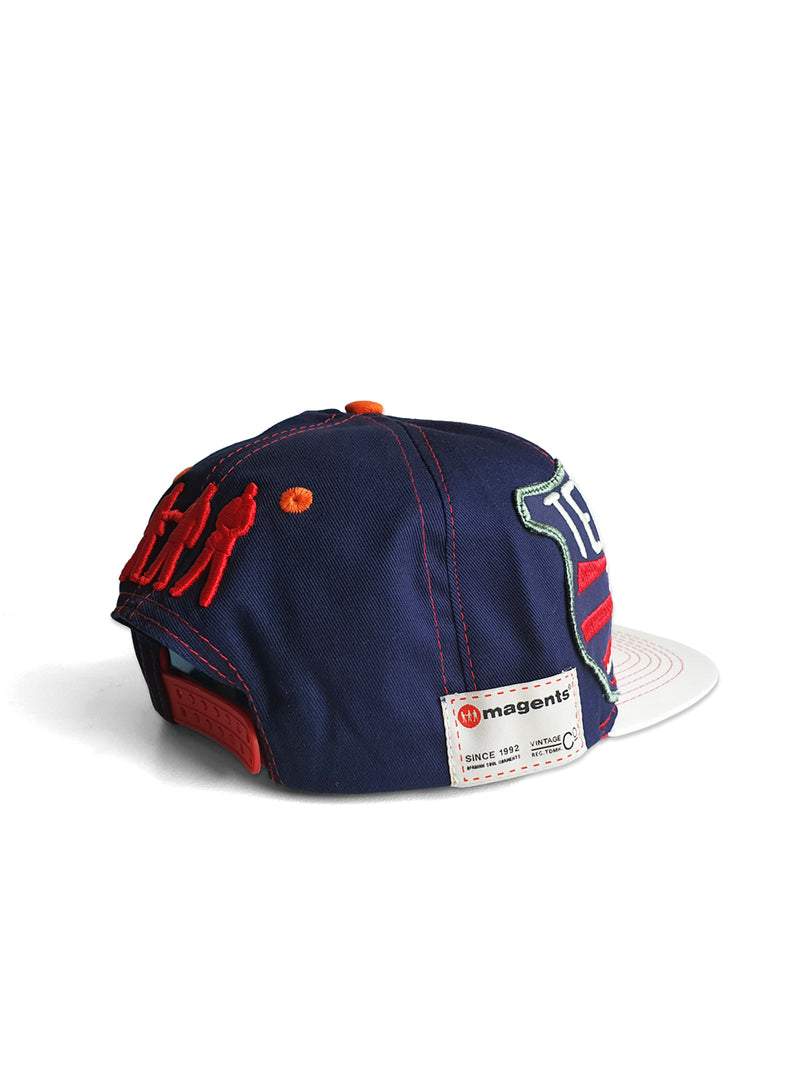 TELOS FITTED FLAT PEAK CAP - MULTI