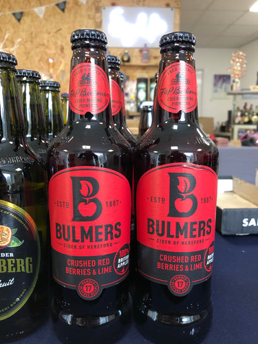 Bulmers - Crushed Red Berries & Lime 500ml