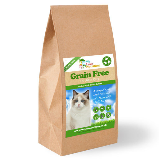 Grain Free Turkey with Sweet Potato Cat Food