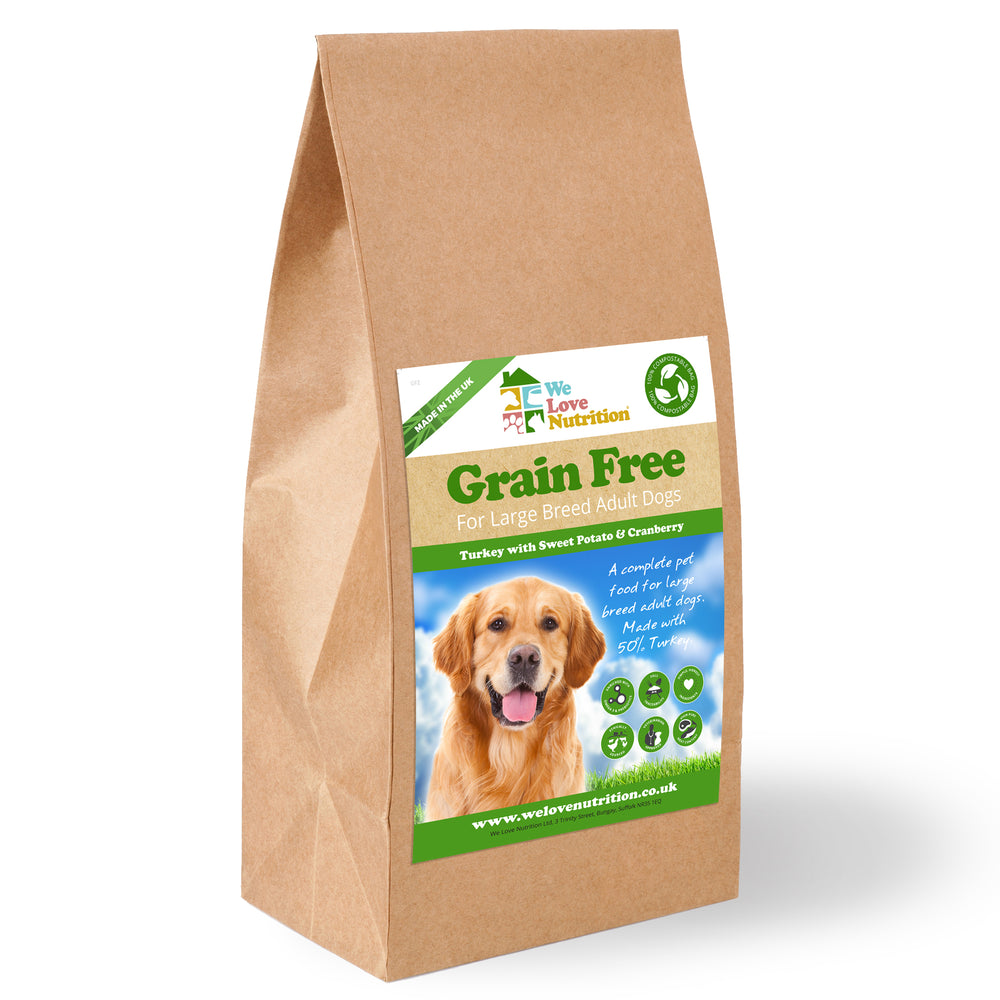 Grain Free Large Breed - Turkey with Sweet Potato & Cranberry