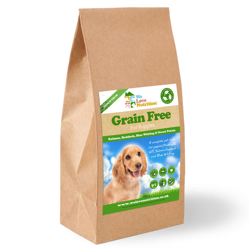 Grain Free Puppy - Salmon, Haddock & Blue Whiting