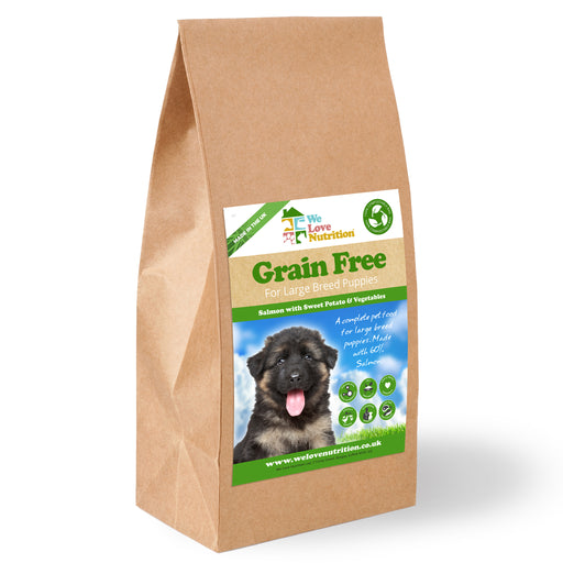Grain Free Large Breed Puppy - Salmon with Sweet Potato & Veg