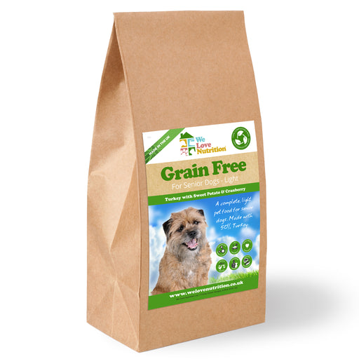 Grain Free Senior Dog Light - Turkey with Sweet Potato and Cranberry