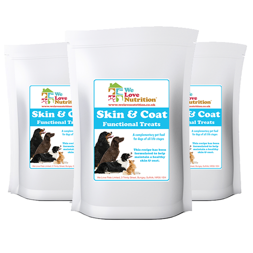 Skin and Coat Functional Treats 6 x 70g