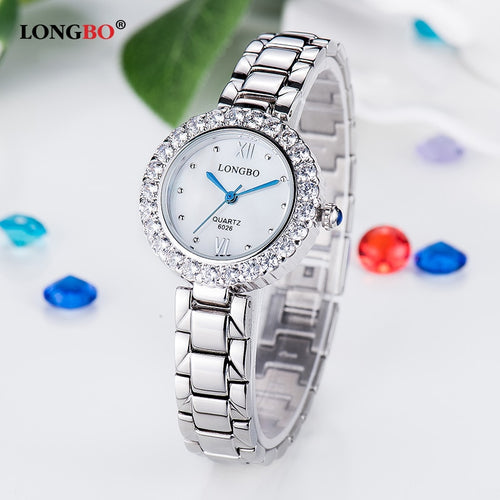 Silver Women's Watch Quartz Bracelet for Ladies