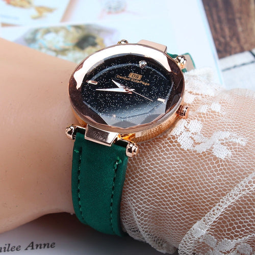 2020 NEW HOT Woman Fashion High Quality Leather Band Analog Quartz Round Wrist Watch Watches N05
