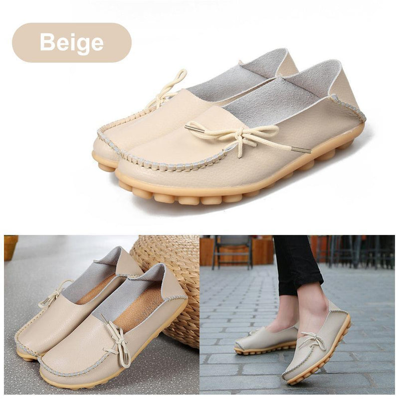 Comfortable Flat Leather Shoes