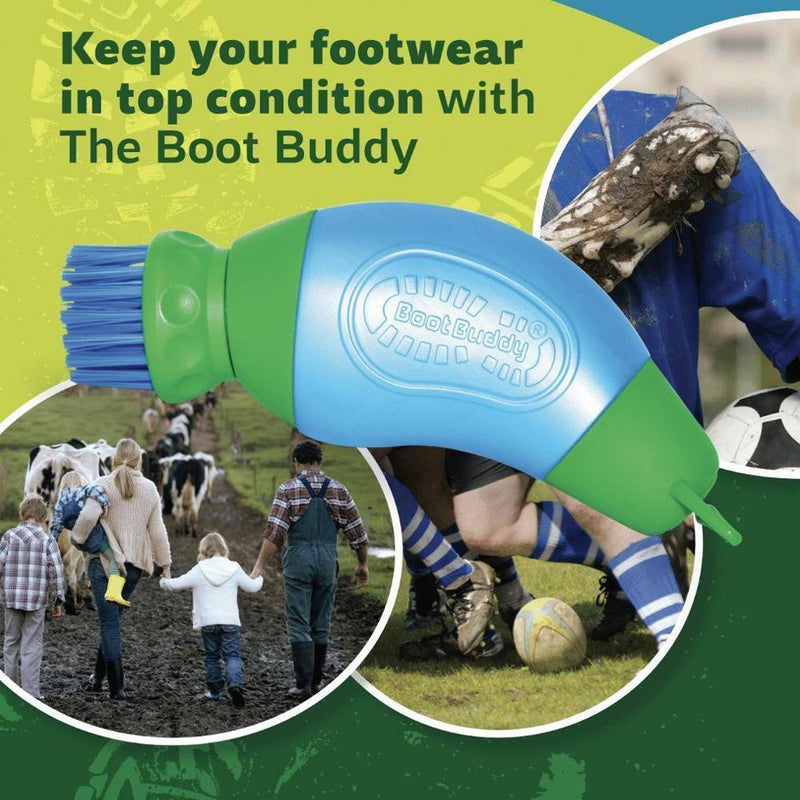 Portable Boot Brush, Clean Your Muddy Footwear