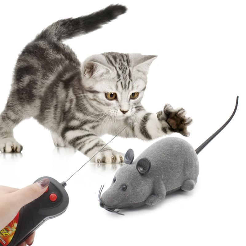 Remote Control Mouse Electric Cat Toy