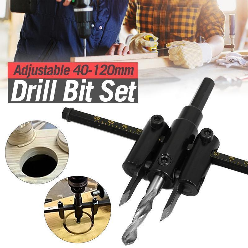 Adjustable Hole Saw Circle Cutter Drill Bit